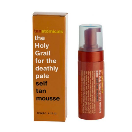 Anatomicals the holy grail for the deathly pale self tan mousse