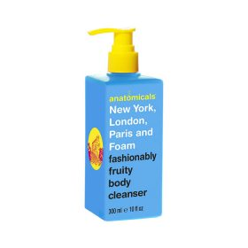 Anatomicals New York London Paris and Fom Fashionably Fruity Body Cleanser