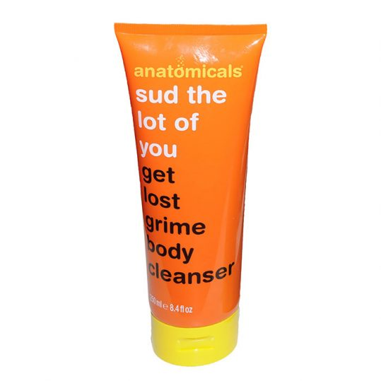 Anatomicals Sud the Lot of You Get Lost Grime Body Cleanser